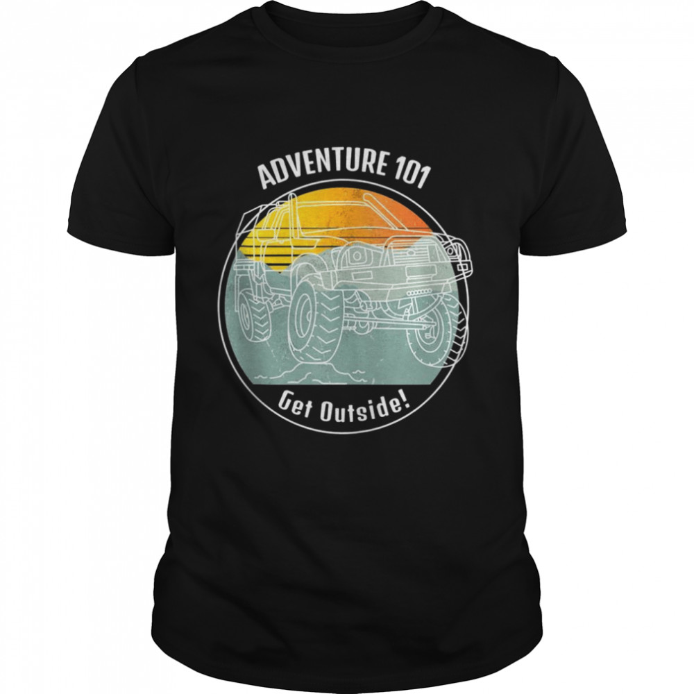 Adventure 101 Hilux Into Beautiful Outdoors Overland Shirt