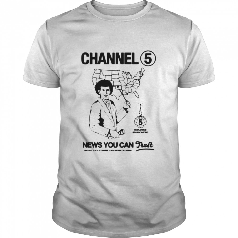 Andrew Callaghan Channel News You Can Shirt