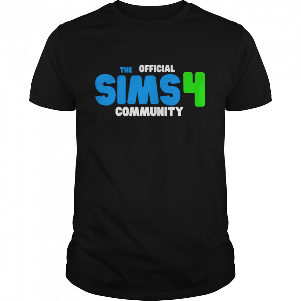 The Official Sims 4 Community Game Shirt