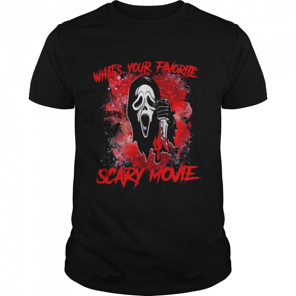 Wahats Your Favorite Scary Movie Shirt
