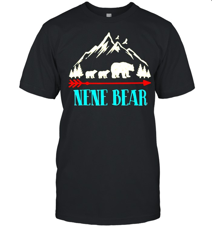 Nene Bear-Vintage Father's Day Mother's Day Classic Shirt