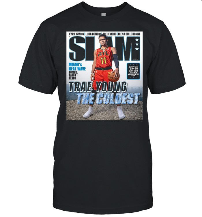 Slam Cover Trae Young Shirt
